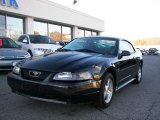 2003 Black Ford Mustang V6 Coupe #39148708
