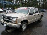 2006 Sandstone Metallic Chevrolet Silverado 1500 Z71 Crew Cab 4x4 #39149442