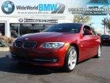 2011 Vermillion Red Metallic BMW 3 Series 335i Convertible #39148314
