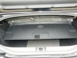 2006 Chrysler Crossfire Limited Roadster Trunk
