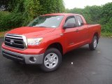 2011 Barcelona Red Metallic Toyota Tundra SR5 Double Cab 4x4 #39149134