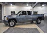 2009 Graystone Metallic Chevrolet Silverado 1500 LS Extended Cab #39148737