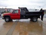 2003 GMC Sierra 3500 Regular Cab 4x4 Chassis Dump Truck