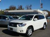 2010 Blizzard White Pearl Toyota Highlander SE 4WD #39148776