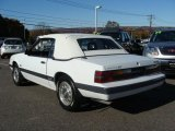 1985 Ford Mustang Oxford White