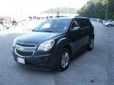 2010 Cyber Gray Metallic Chevrolet Equinox LT #39149625