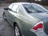2008 Moss Green Metallic Ford Fusion SE #3911361