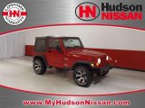 2006 Flame Red Jeep Wrangler X 4x4 #39257953