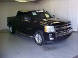2007 Black Chevrolet Silverado 1500 LT Z71 Crew Cab 4x4 #39258920