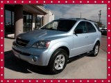 2005 Ice Blue Metallic Kia Sorento EX 4WD #39258651