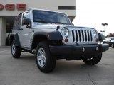 2011 Bright Silver Metallic Jeep Wrangler Sport 4x4 #39258942