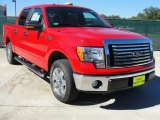 2010 Vermillion Red Ford F150 XLT SuperCrew #39258668