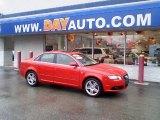 2008 Brilliant Red Audi A4 2.0T quattro S-Line Sedan #39258448