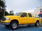 2005 Ford F250 Super Duty Screaming Yellow