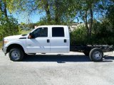 2011 Ford F350 Super Duty XL Crew Cab 4x4 Chassis Data, Info and Specs
