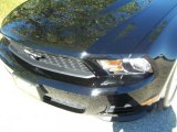 2011 Ebony Black Ford Mustang V6 Convertible #39258483