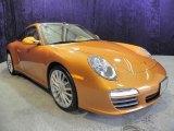 2009 Porsche 911 Nordic Gold Metallic