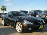 2010 Mercedes-Benz SLK Black