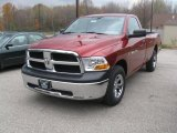 2011 Deep Cherry Red Crystal Pearl Dodge Ram 1500 ST Regular Cab 4x4 #39258999
