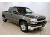 2002 Medium Charcoal Gray Metallic Chevrolet Silverado 1500 Extended Cab #39259023