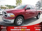 2011 Deep Cherry Red Crystal Pearl Dodge Ram 1500 SLT Quad Cab #39258537