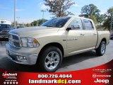2011 White Gold Dodge Ram 1500 Laramie Crew Cab #39258541
