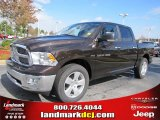 2011 Rugged Brown Pearl Dodge Ram 1500 Big Horn Crew Cab #39258547