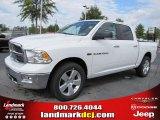 2011 Bright White Dodge Ram 1500 Big Horn Crew Cab #39258548