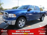 2011 Deep Water Blue Pearl Dodge Ram 1500 Big Horn Crew Cab #39258551