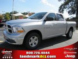 2011 Bright Silver Metallic Dodge Ram 1500 SLT Crew Cab #39258552