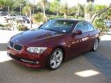 2011 Vermillion Red Metallic BMW 3 Series 328i Convertible #39258345