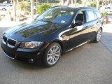 2011 Jet Black BMW 3 Series 328i Sports Wagon #39258348