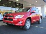 2011 Barcelona Red Metallic Toyota RAV4 Limited #39258788