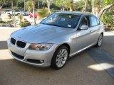 2011 Titanium Silver Metallic BMW 3 Series 328i Sedan #39258349