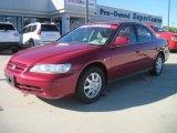 2002 Honda Accord Firepepper Red Pearl