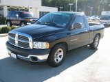 2004 Black Dodge Ram 1500 ST Regular Cab #39258835