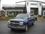 2004 Arrival Blue Metallic Chevrolet Silverado 1500 LS Regular Cab 4x4 #39258620