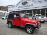 2006 Flame Red Jeep Wrangler Sport 4x4 #39258623