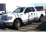 2010 Oxford White Ford F150 XLT SuperCab 4x4 #39325671