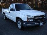 2006 Chevrolet Silverado 1500 Work Truck Regular Cab Front 3/4 View