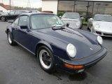 1986 Porsche 911 Midnight Blue Metallic