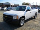 2011 Summit White Chevrolet Silverado 1500 Regular Cab #39326218