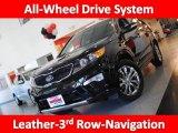 2011 Ebony Black Kia Sorento SX V6 AWD #39325730