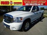2007 Bright White Dodge Ram 1500 Laramie Quad Cab #39326228