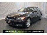 2007 Jet Black BMW 3 Series 335xi Sedan #39325531