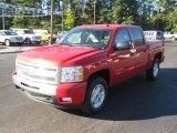 2011 Victory Red Chevrolet Silverado 1500 LT Crew Cab 4x4 #39326242