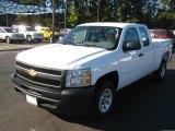 2011 Summit White Chevrolet Silverado 1500 Extended Cab #39326243