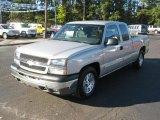 2005 Silver Birch Metallic Chevrolet Silverado 1500 LS Extended Cab #39326246