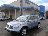 2009 Glacier Blue Metallic Honda CR-V EX-L 4WD #39326286