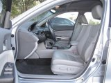 2009 Honda Accord EX-L V6 Sedan Gray Interior